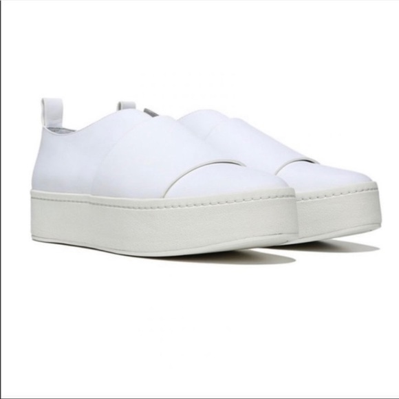 Vince Shoes   White Slip On Sneakers